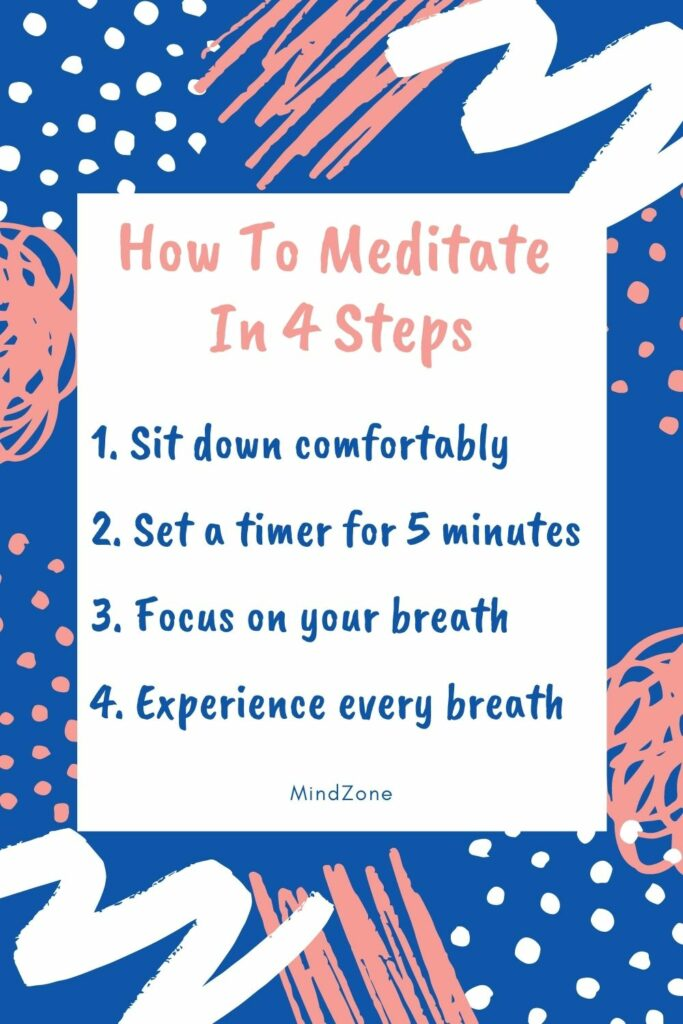 How to Meditate in 4 Steps