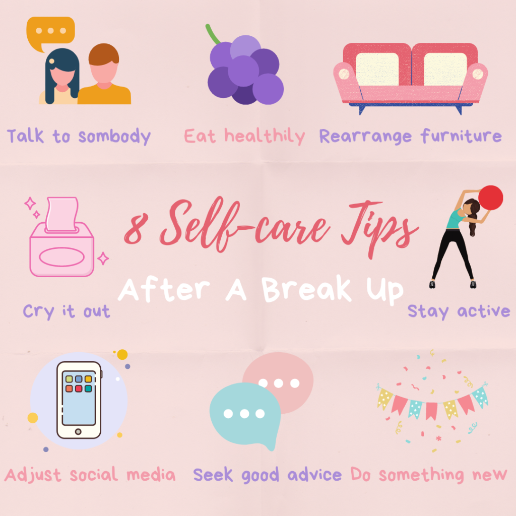 8 Ways To Self Care After A Painful Breakup