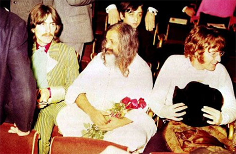 The Beatles are discussing about transcendental meditation