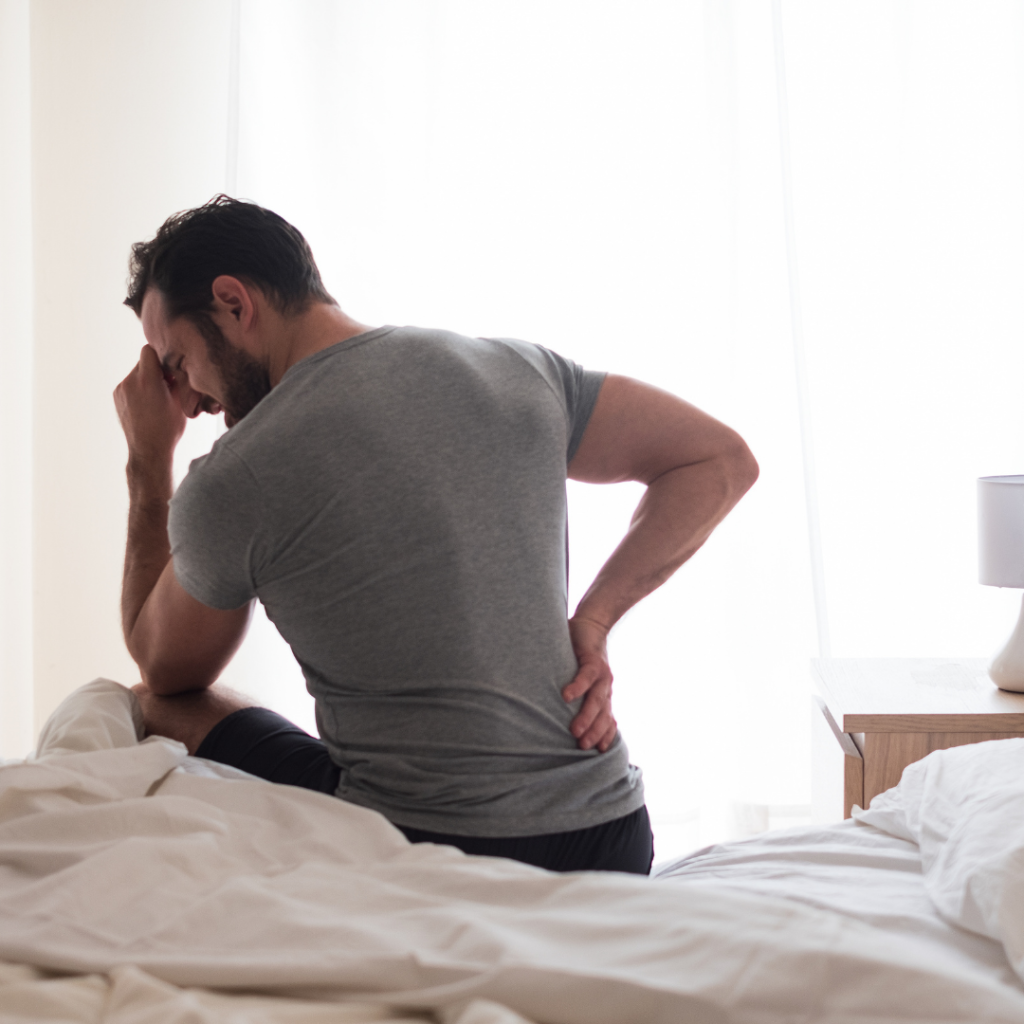 back or neck pain after you wake up