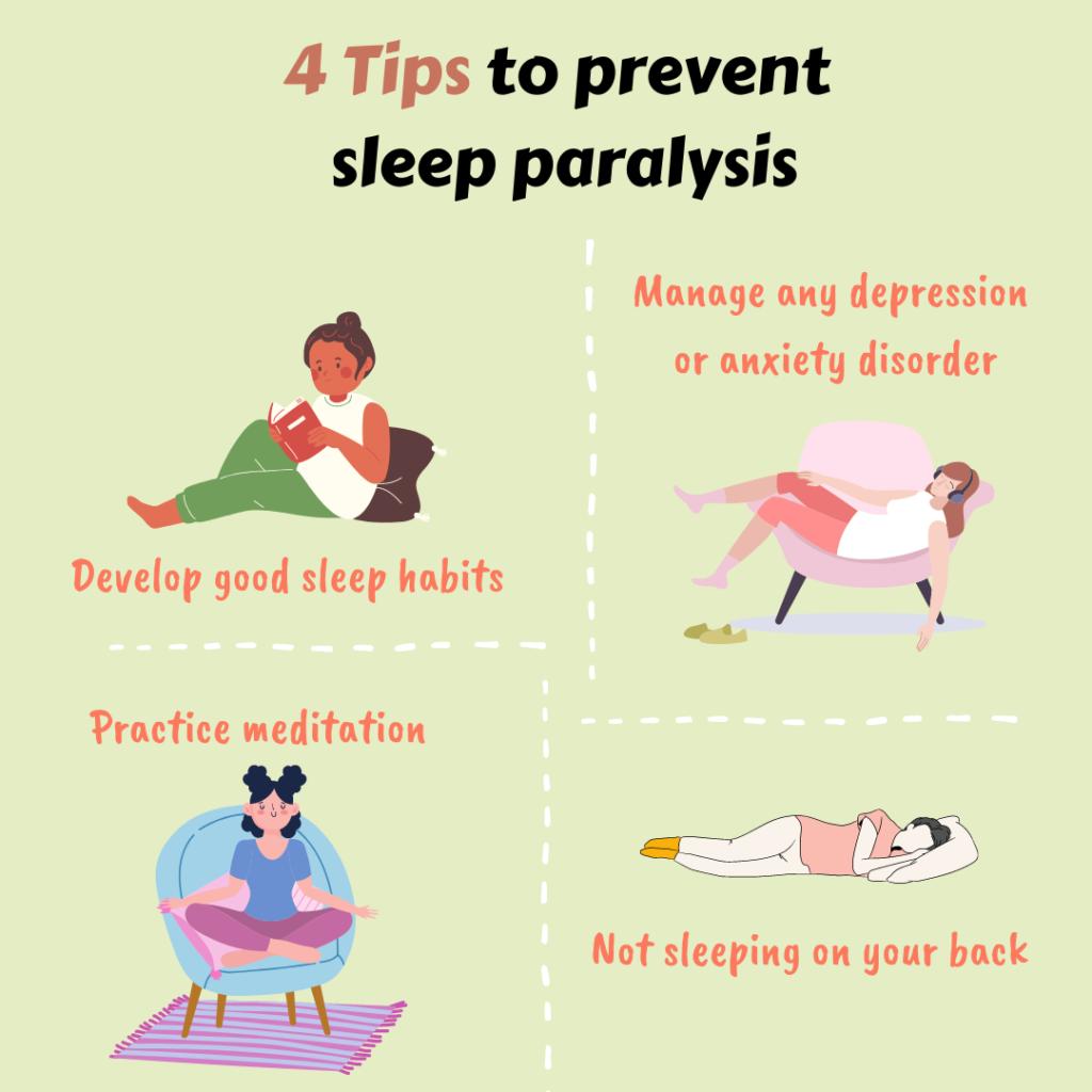 How to prevent sleep paralysis?