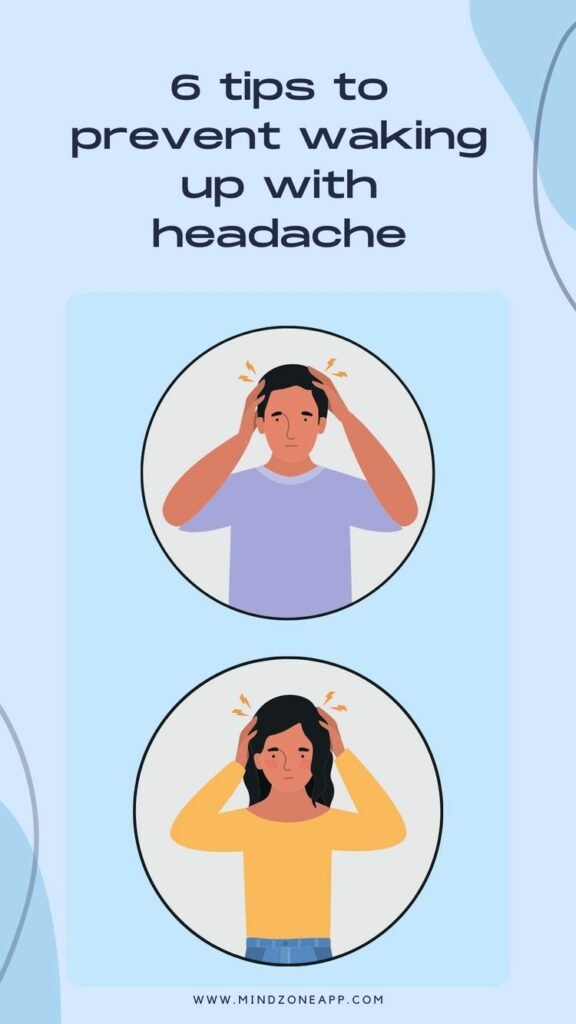 6 tips to prevent waking up with headache01